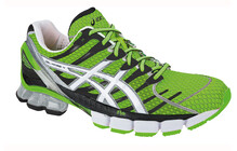 Asics Men's Gel Kinsei 4 neon green white black